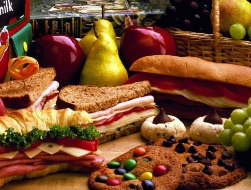 Несовместимые продукты питания с точки зрения ТКМ