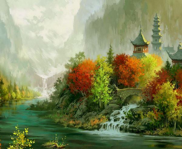 Осень 2015 - начало сезона по китайскому календарю