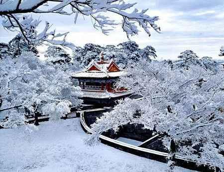 Зима по китайскому календарю 2014 года
