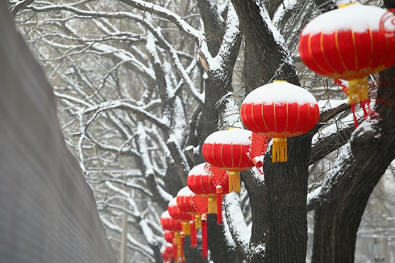 Зима в 2015 году по китайскому календарю