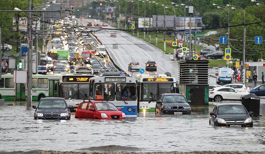 Потоп московской Осенью 2016 года